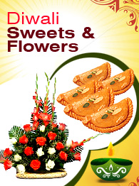 Diwali Sweets & Flowers